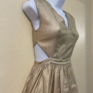 gold mustard seed dress